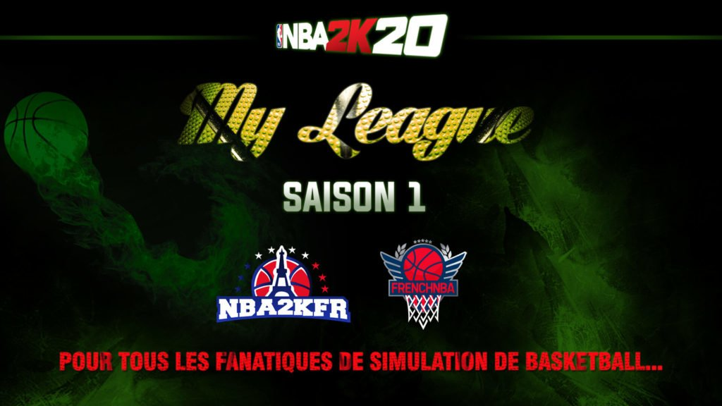 MyLeague NBA2kFr x FrenchNBA