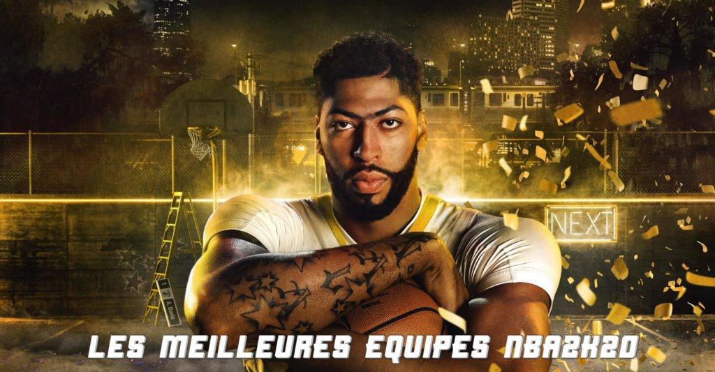 Les Meilleurs Équipes de NBA2K20