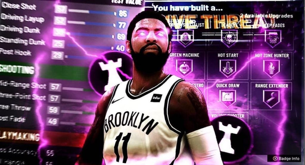 Les news NBA 2K20 au 30/08