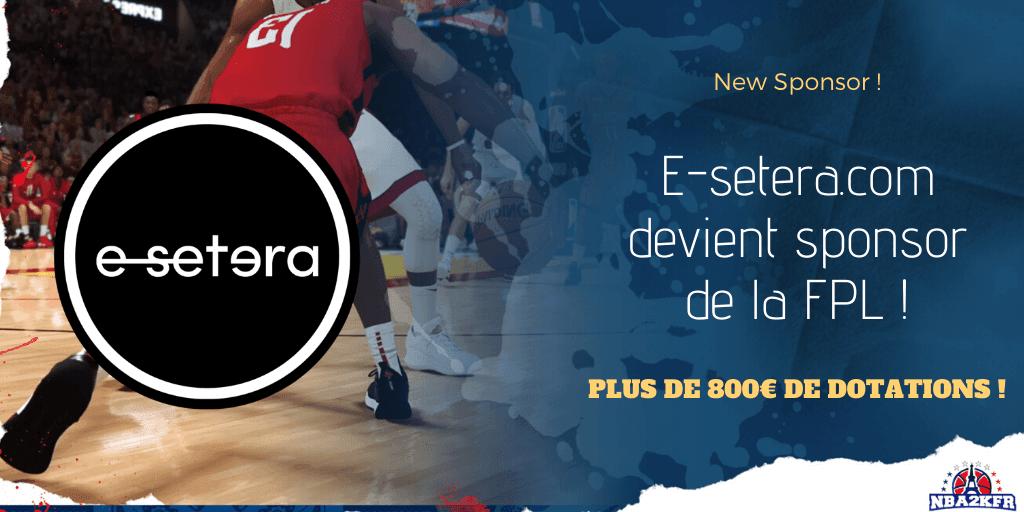 E-setera.com devient sponsor de la FPL !