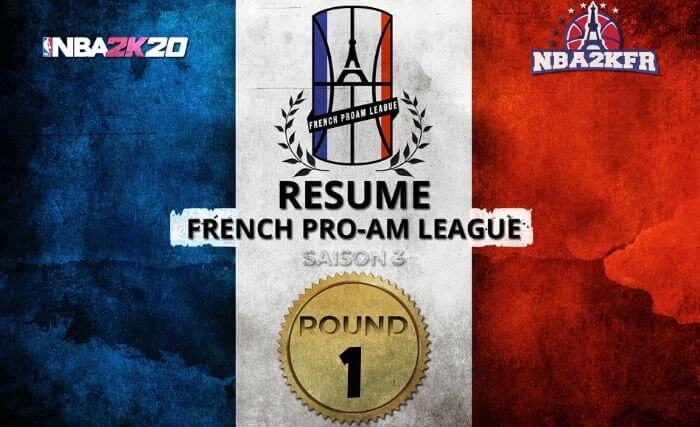 French Pro-AM League : Les Scores du Round 1 (Saison 3)