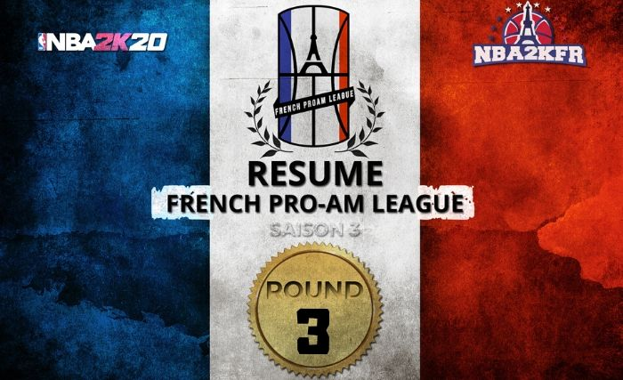 French Pro-AM League : Les Scores du Round 3 (Saison 3)
