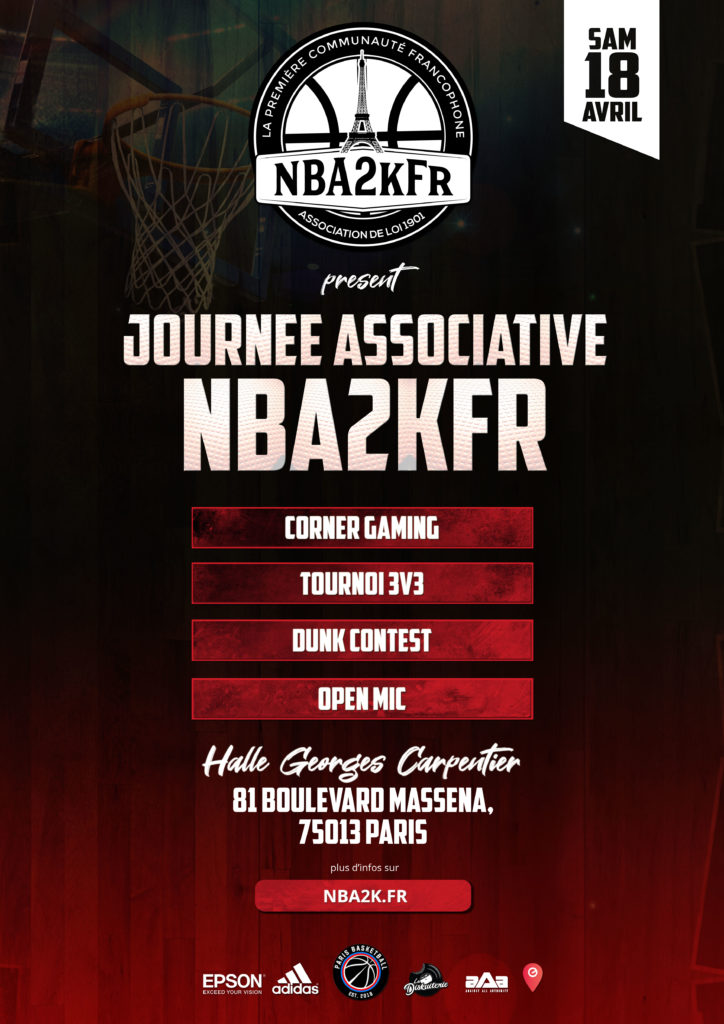 Journée Communautaire NBA2kFr x Paris Basket