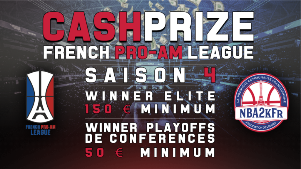 La French Pro-Am League vous dévoile son cashprize.