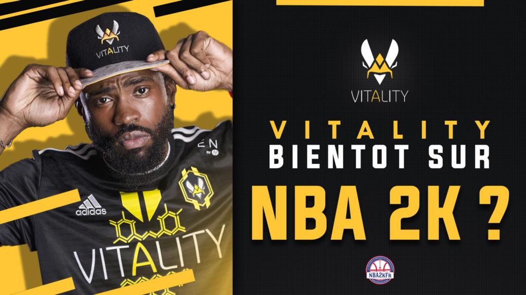 Vitality bientôt sur la scène NBA 2K ?