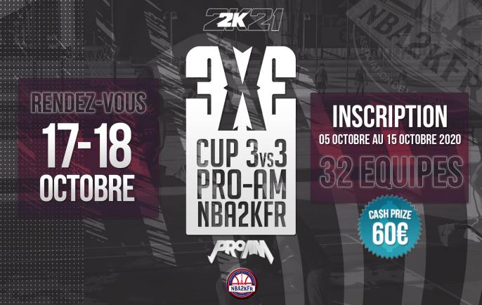 CUP 3VS3 Pro-Am NBA2kFr