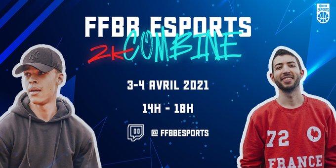 FFBBesports 2K Combine Selection équipe de France